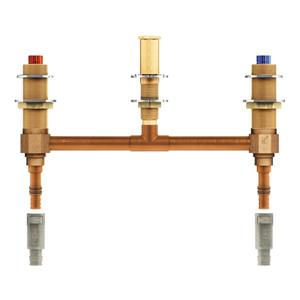 Moen M-PACT 2-H Roman Tub Valve 10-in Centers 1/2-in Pex with adapter
