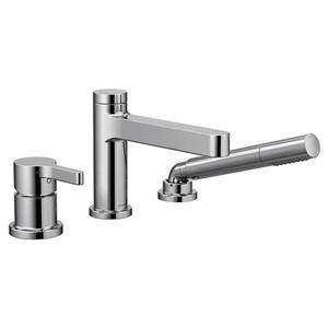 Moen Vichy Roman Tub Faucet With Hand Shower -One-Handle - Chrome (Valve Sold Separately)