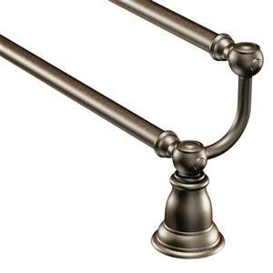 Moen Kingsley 24-in Double Towel Bar - Oil Rubbed Bronze
