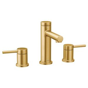 Moen Align Bathroom Faucet - Two-Handle - Brushed Gold