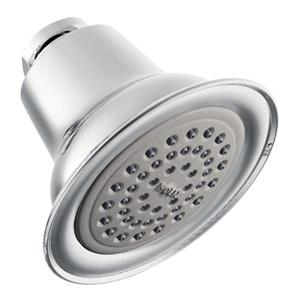 Moen Eco-Performance 3-1/2-in Diameter Showerhead - One Function - Chrome