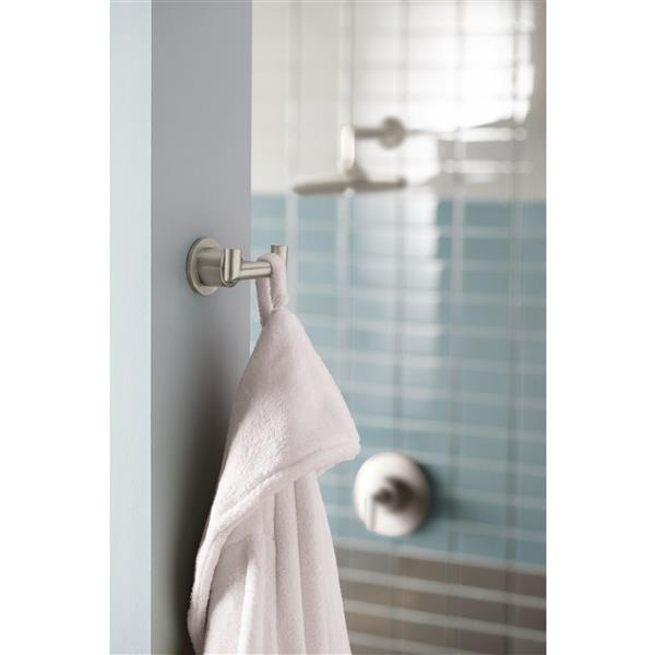 Moen Arris Double Robe Hook - Brushed Nickel