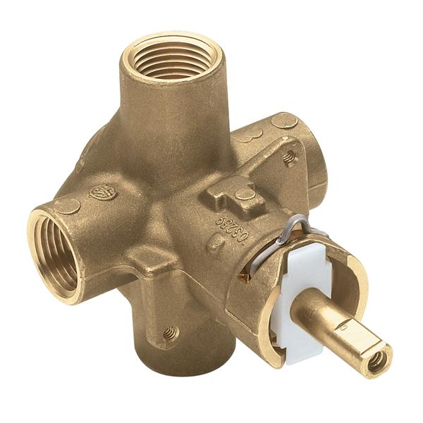 Moen M-PACT Valve Posi-Temp(R) 1/2-in Ips Connection