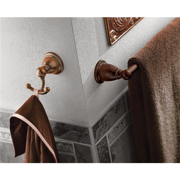 Moen Brantford Double Robe Hook - Oil Rubbed Bronze