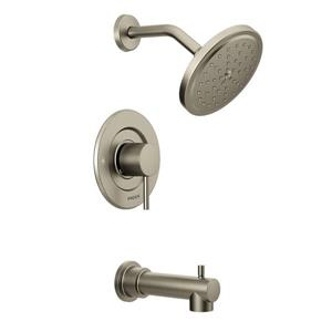 Moen Align Bathtub and Shower Valve Trim Set - Brushed Nickel (Valve Sold Separately)