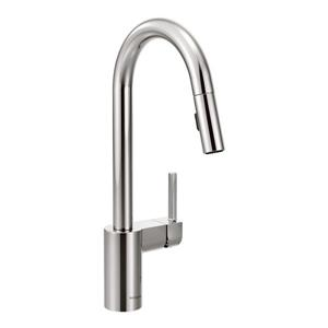 Moen Align Collection High Arc Pulldown Kitchen Faucet - 1-Handle - Chrome