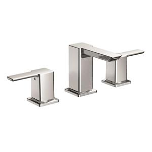 Moen 90 Degree Bathroom Faucet -  2-Handle - Brushed Nickel (Valve Sold Separately)