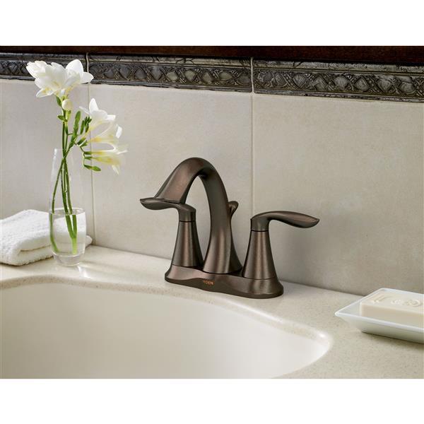 Moen Eva Bathroom Faucet -  2-Handle - Oil Rubbed Bronze