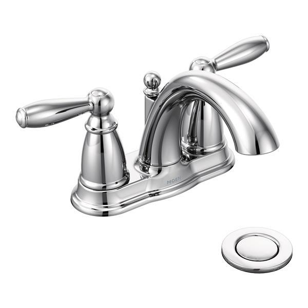 Moen Brantford Bathroom Faucet 2, Moen Chrome Bathroom Faucet
