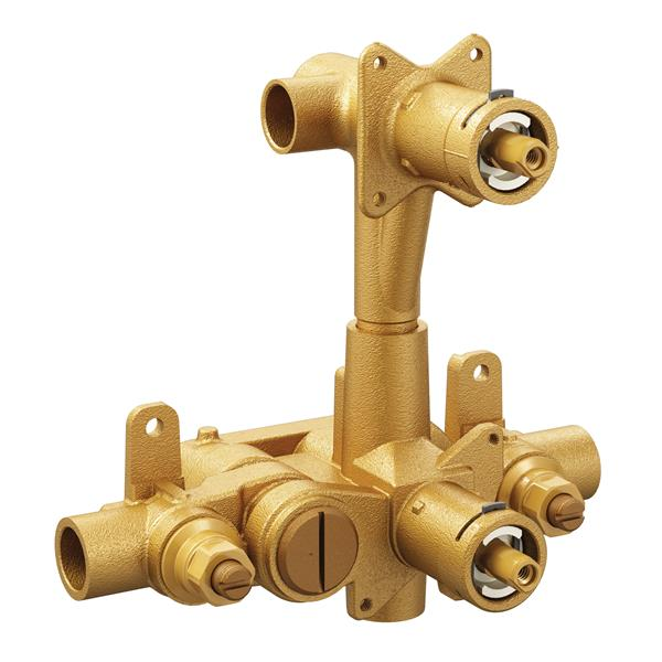 Moen M-Pact Moentrol Transfer Pressure Balancing Valve - 3-Function - 0.5-in CC Connection