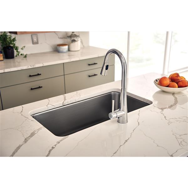 Moen Sleek Collection Pulldown Kitchen Faucet Chrome 7864 Rona