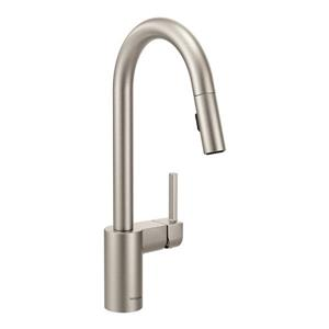 Moen Align Collection High Arc Pulldown Kitchen Faucet - 1-Handle - Stainless Steel