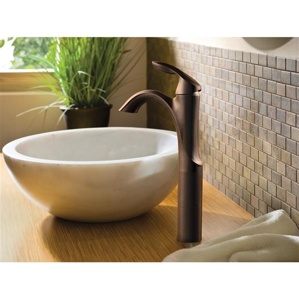 Moen Eva Bathroom Faucet -  1-Handle - Oil Rubbed Bronze
