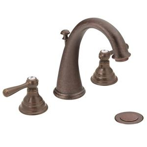 Moen Kingsley Bathroom Faucet -  2-Handle - Oil Rubbed Bronze (Valve Sold Separately)