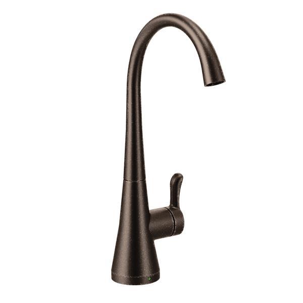 Robinet d'eau froide à 1 poignée Sip Transitoire de Moen, bronze huilé