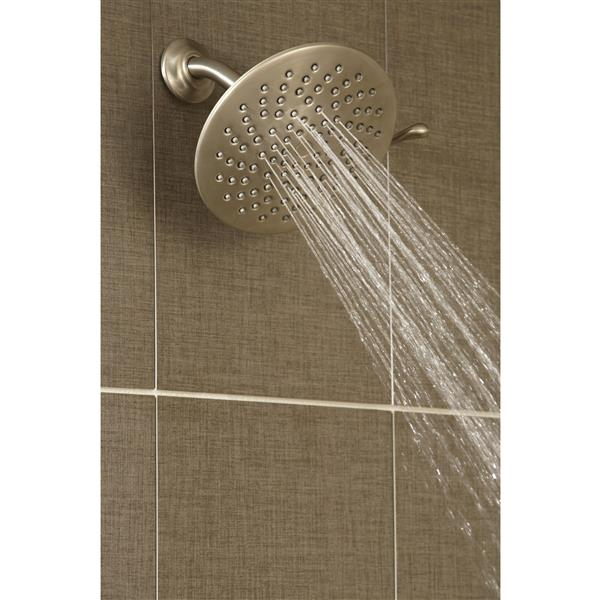 Moen Velocity Rainshower Head - 8-in - Chrome