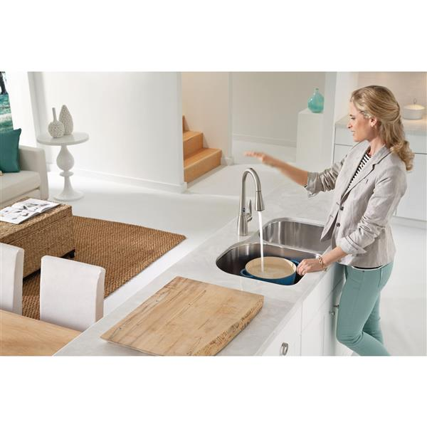 Moen Arbor Collection High Arc Pulldown Kitchen Faucet - 1-Handle - Stainless Steel