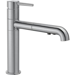 Delta Trinsic Pull-Out Kitchen Faucet - Arctic Stainless