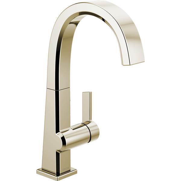 Delta Pivotal Single Handle Bar/Prep Faucet - Polished Nickel