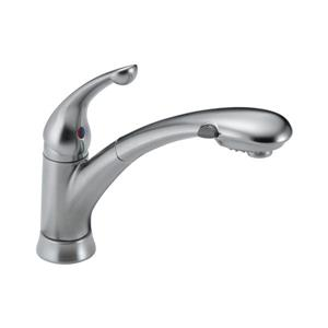 Delta Pull-Out Kitchen Faucet - Arctic Stainless