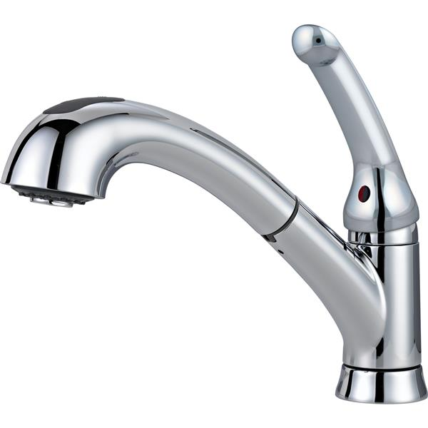 Delta Single Handle Kitchen Pull-Out Faucet - Chrome