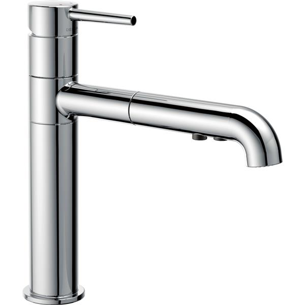 Delta Trinsic Pull-Out Kitchen Faucet - Chrome