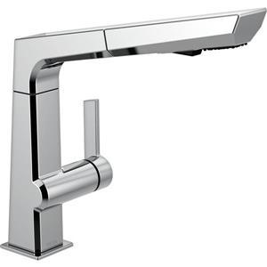 Delta Pivotal Pull-Out Kitchen Faucet - Chrome