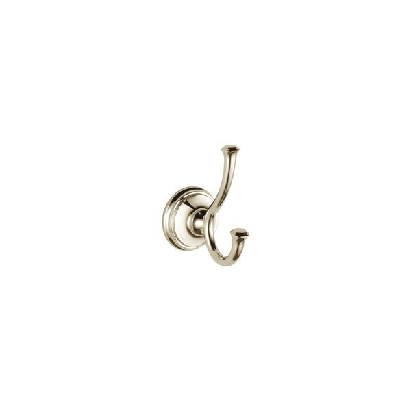 Delta Cassidy Single Robe Hook - Polished Nickel