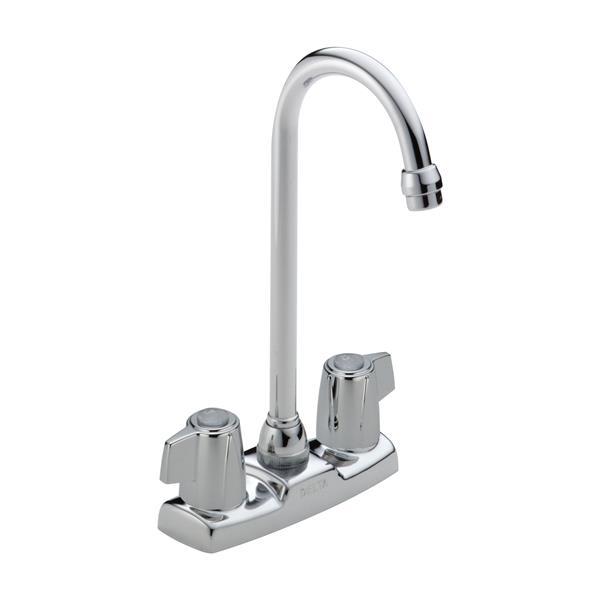 Delta 2-Handle Blade Bar/Prep Faucet - Chrome