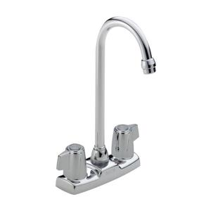 Delta 2-Handle Blade Bar/Prep Faucet - Chrome