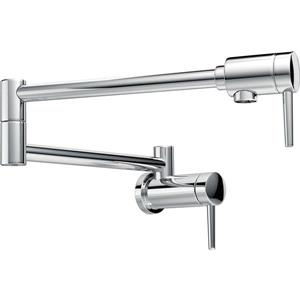 Delta Wall-Mount Pot Filer Faucet - Chrome