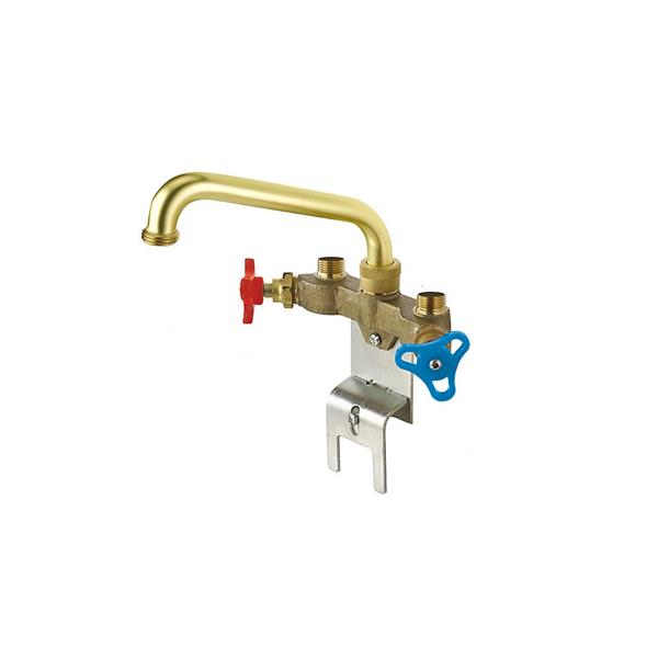 Delta Two Handle Laundry Faucet - Brass