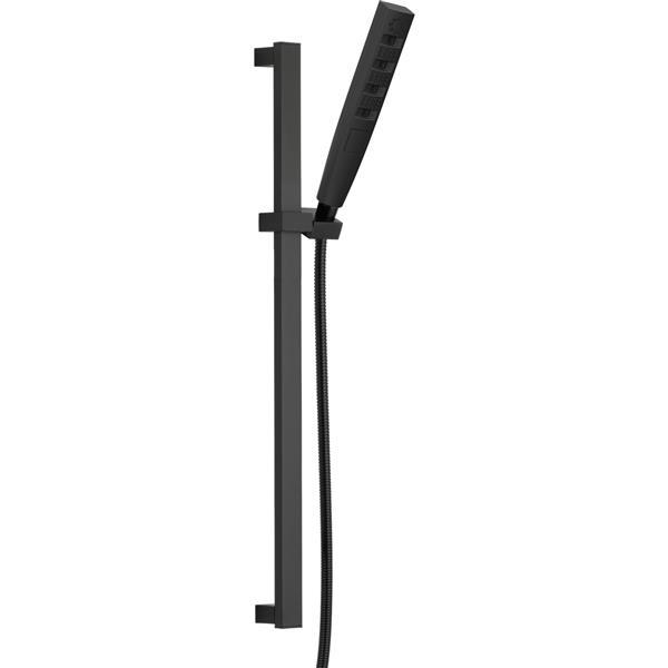 Delta Zura Multi-Function Hand Shower with Wall Bar - Matte Black