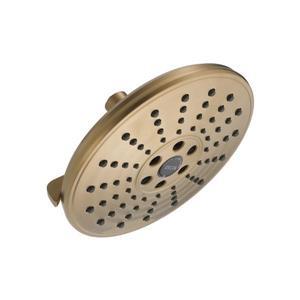 Pomme de douche de pluie à 3réglages H2OKinetic(MC) de Delta, bronze