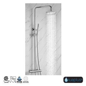 Akuaplus Elite 2 Shower Column with Hand Shower - Chrome