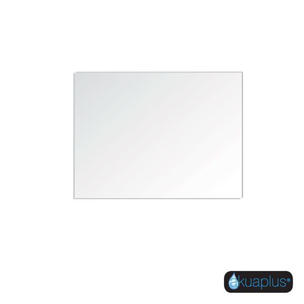 Akuaplus Mia Frameless Mirror -31.5-in x 23.63-in - White