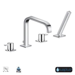 Akuaplus Elite Roman Tub Faucet and Handshower - 4-Pieces - Chrome