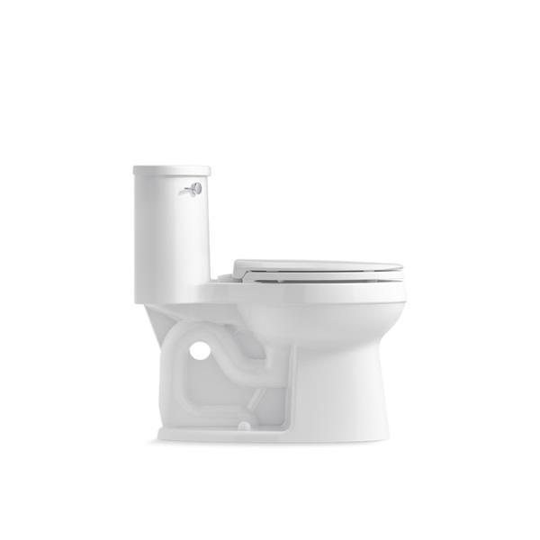 KOHLER Adair Elongated Toilet - 1-Piece - Comfort Height - White