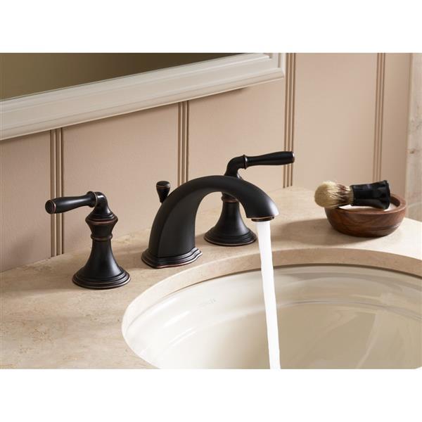 KOHLER Devonshire Bathroom Sink Faucet - 2-Handle - Brushed Nickel