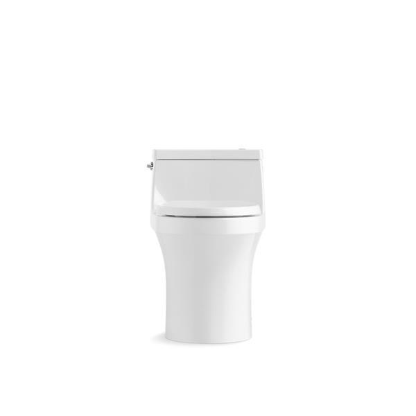 Toilette monobloc compacte San Souci de KOHLER, blanche