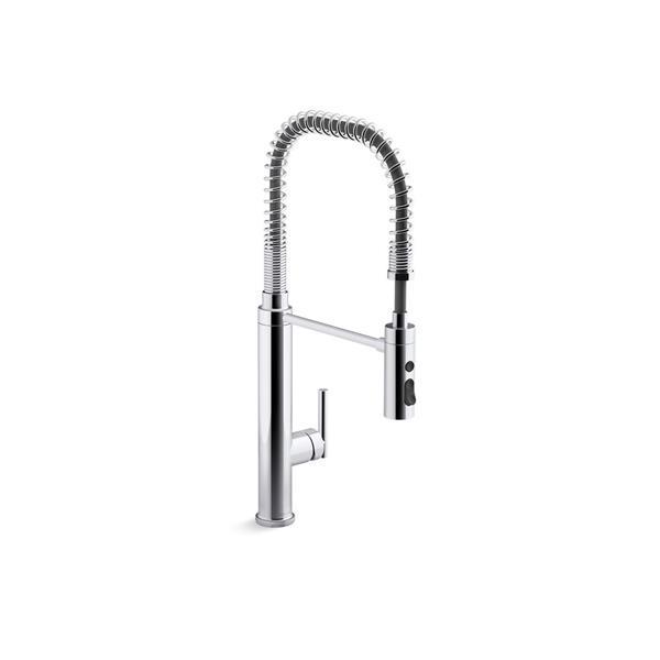 KOHLER Purist High-Arc Kitchen Sink Faucet - 1-Handle - Polished Chrome