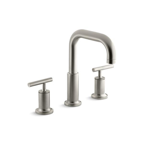 KOHLER Purist Bathtub Faucet - Brushed Nickel
