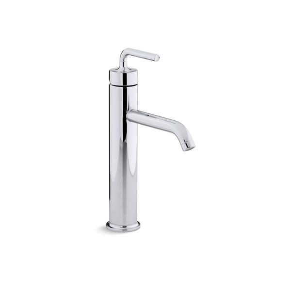 Robinet de salles de bains Purist de KOHLER, 1 poignée, chrome poli