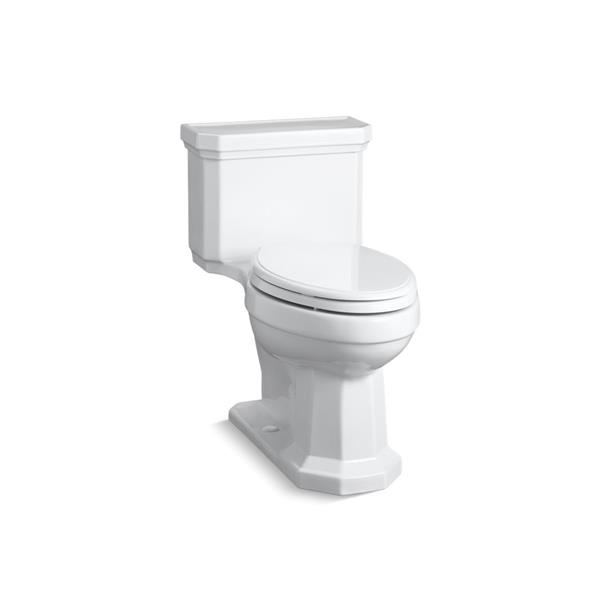 KOHLER Kathryn Compact Elongated Toilet - 1-Piece - Comfort Height - White
