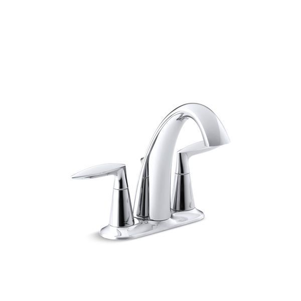 KOHLER Alteo Bathroom Sink Faucet - 2-Handle - Polished Chrome