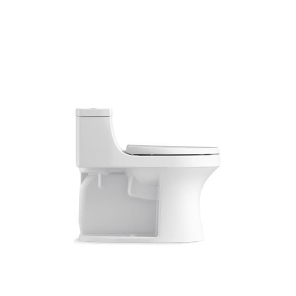 Toilette monobloc compacte San Souci de KOHLER, cachemire