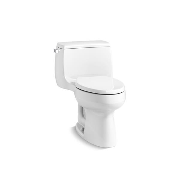 KOHLER Gabrielle Compact Elongated Toilet - 1-Piece - Comfort Height - White