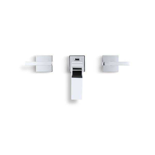 KOHLER Loure Bathroom Faucet - 1-Handle - Brushed Nickel