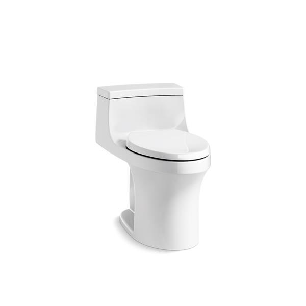 Toilette monobloc San Souci de KOHLER, blanche