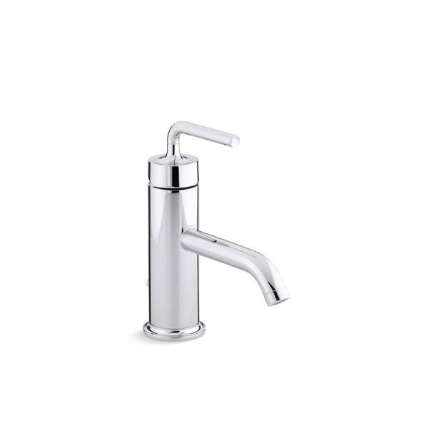 KOHLER Purist Bathroom Sink Faucet - 1-Handle - Polished Chrome